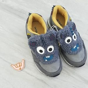 CAT & JACK | Fuzzy monster velcro shoes